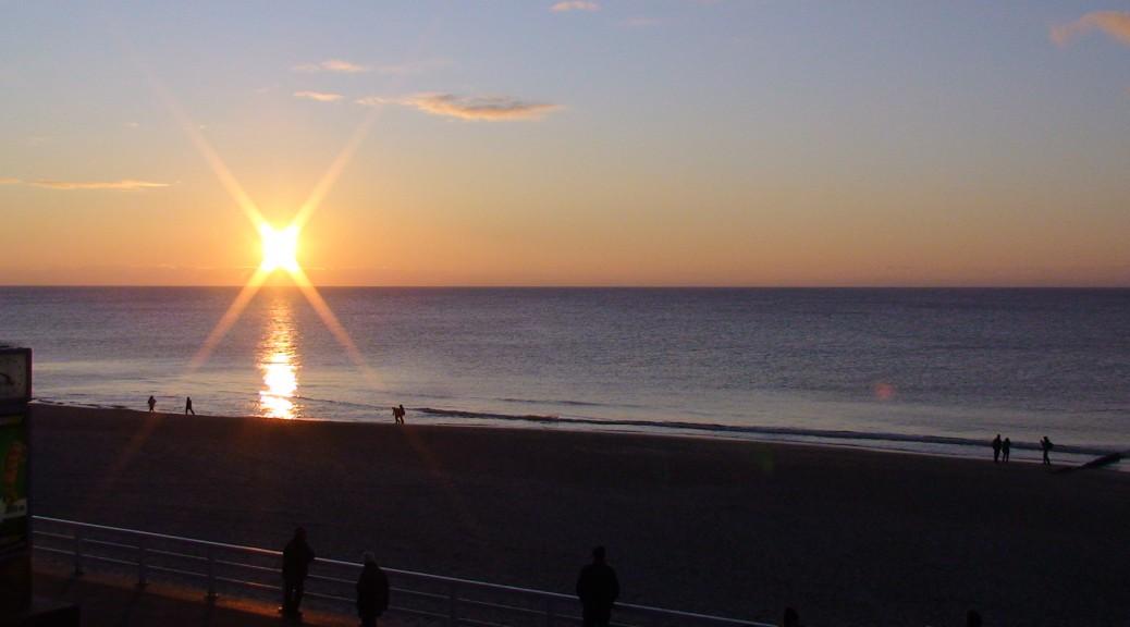 Sunset auf Sylt