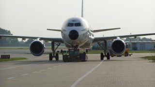 A321 im Schlepp