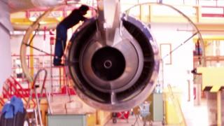 A318 Triebwerkwartung