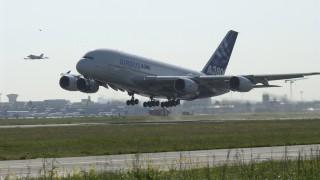 A380 beim Start