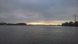 Billwerder Bucht mit Blick in die Dovelbe